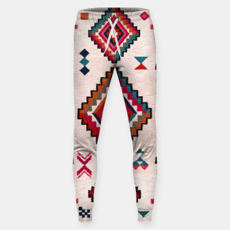 Miniatur Traditional Boho Moroccan Anthropologie Artwork Sweatpants, Live Heroes