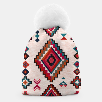 Miniatur Traditional Boho Moroccan Anthropologie Artwork Beanie, Live Heroes