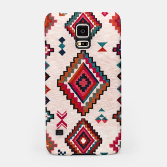 Miniatur Traditional Boho Moroccan Anthropologie Artwork Samsung Case, Live Heroes