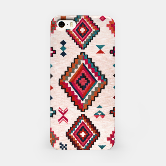 Miniatur Traditional Boho Moroccan Anthropologie Artwork iPhone Case, Live Heroes
