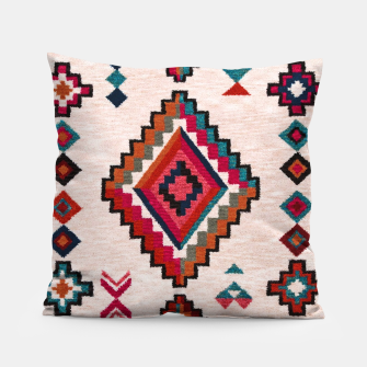 Miniatur Traditional Boho Moroccan Anthropologie Artwork Pillow, Live Heroes