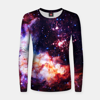 Thumbnail image of Fire in the Sky Women sweater, Live Heroes