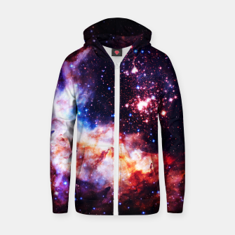 Thumbnail image of Fire in the Sky Zip up hoodie, Live Heroes