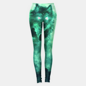 Thumbnail image of Wolf Nebula Leggings, Live Heroes
