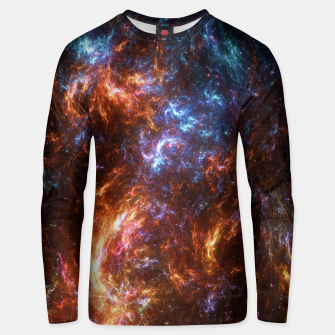 Thumbnail image of Ice and Fire Nebula Unisex sweater, Live Heroes