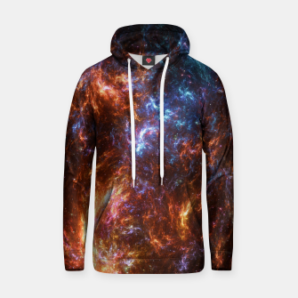 Thumbnail image of Ice and Fire Nebula Hoodie, Live Heroes