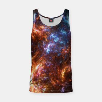 Thumbnail image of Ice and Fire Nebula Tank Top, Live Heroes