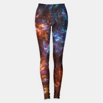 Thumbnail image of Ice and Fire Nebula Leggings, Live Heroes