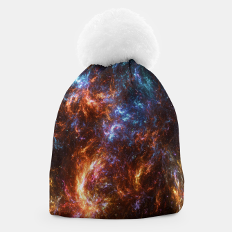 Thumbnail image of Ice and Fire Nebula Beanie, Live Heroes