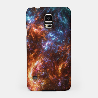 Thumbnail image of Ice and Fire Nebula Samsung Case, Live Heroes