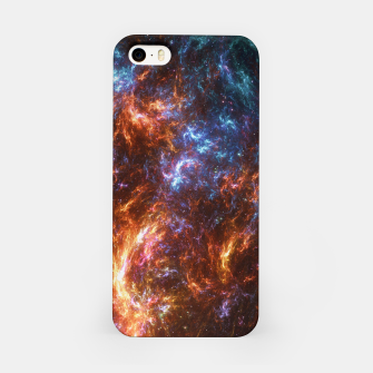Miniature de image de Ice and Fire Nebula iPhone Case, Live Heroes