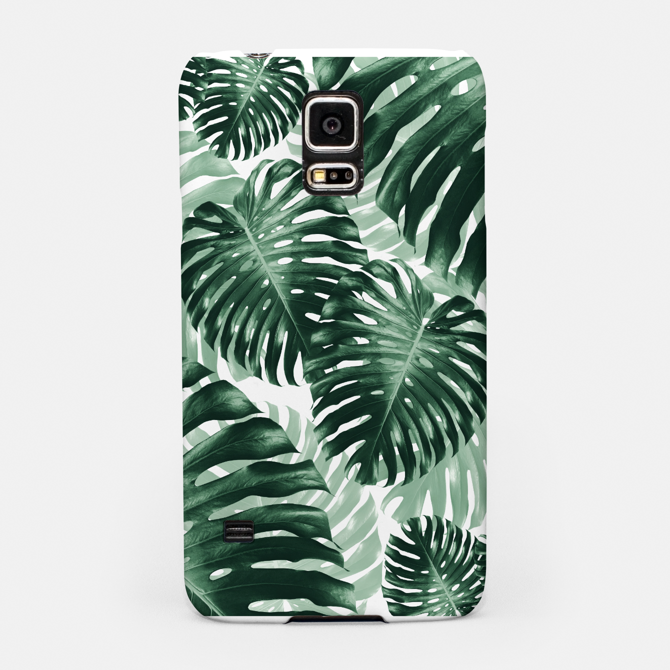 Zdjęcie Tropical Monstera Jungle Leaves Pattern #1 #tropical #decor #art Handyhülle für Samsung - Live Heroes