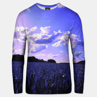 meadow and clouds db Unisex sweater thumbnail image