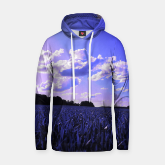 meadow and clouds db Hoodie thumbnail image