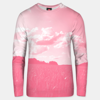 meadow and clouds pw Unisex sweater miniature