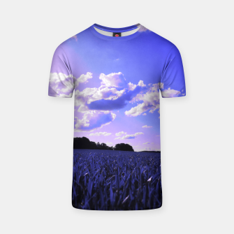 meadow and clouds db T-shirt thumbnail image