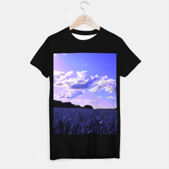 meadow and clouds db T-shirt regular thumbnail image