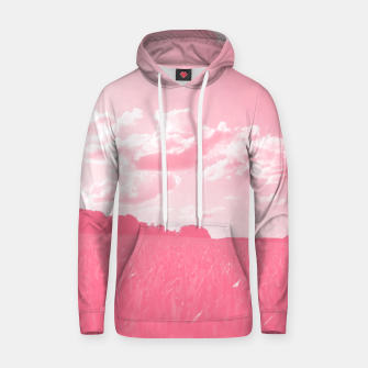 meadow and clouds pw Hoodie thumbnail image
