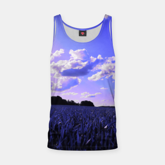 meadow and clouds db Tank Top thumbnail image