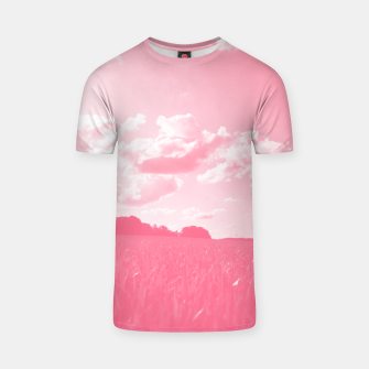meadow and clouds pw T-shirt thumbnail image