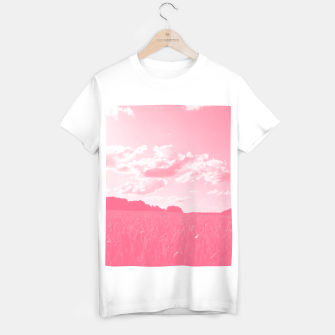 meadow and clouds pw T-shirt regular thumbnail image
