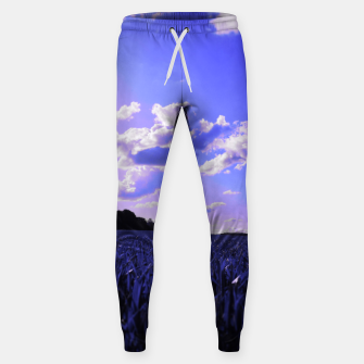 meadow and clouds db Sweatpants thumbnail image