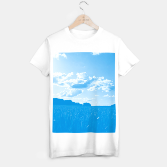 meadow and clouds wb T-shirt regular miniature