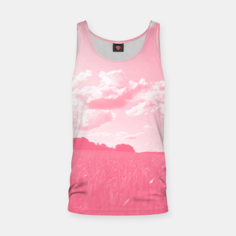 meadow and clouds pw Tank Top thumbnail image