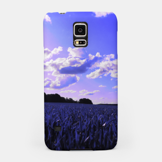 meadow and clouds db Samsung Case thumbnail image