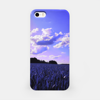 meadow and clouds db iPhone Case thumbnail image