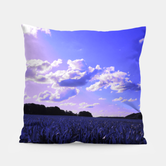 meadow and clouds db Pillow thumbnail image