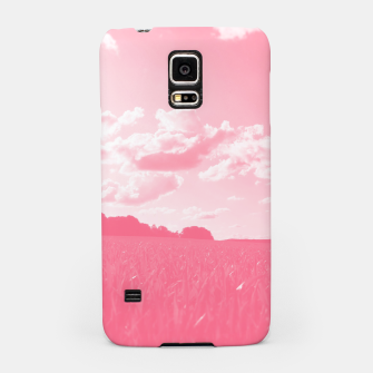 meadow and clouds pw Samsung Case miniature