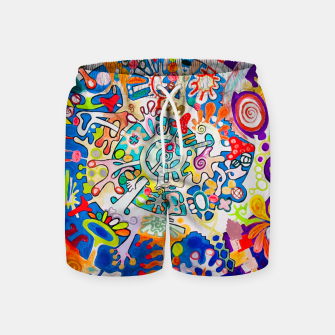 Thumbnail image of BIOMACHINE Swim Shorts, Live Heroes