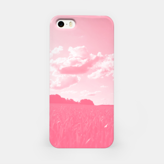 meadow and clouds pw iPhone Case thumbnail image