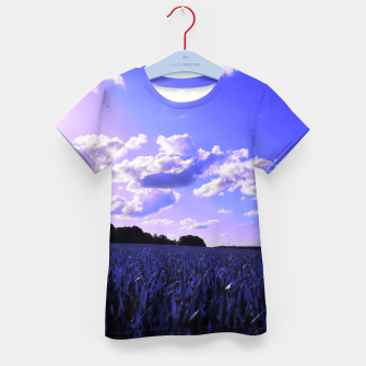meadow and clouds db Kid's t-shirt thumbnail image