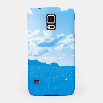 meadow and clouds wb Samsung Case miniature