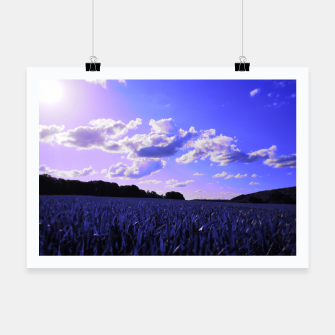 Thumbnail image of meadow and clouds db Poster, Live Heroes
