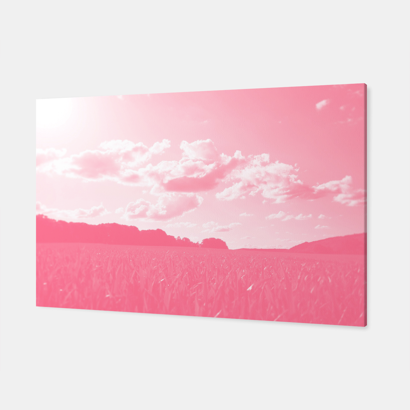 Image of meadow and clouds pw Canvas - Live Heroes