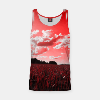 Thumbnail image of meadow and clouds dr Tank Top, Live Heroes