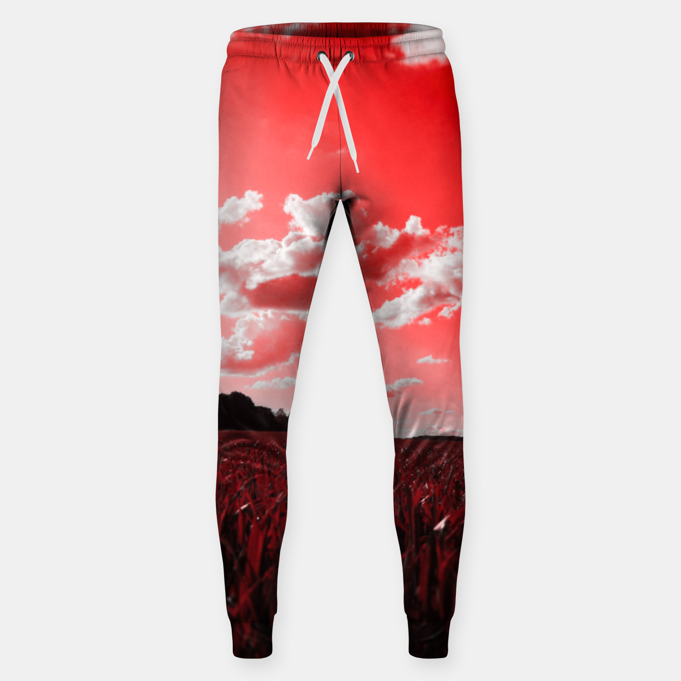 Image of meadow and clouds dr Sweatpants - Live Heroes
