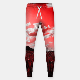 meadow and clouds dr Sweatpants miniature