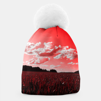 meadow and clouds dr Beanie miniature
