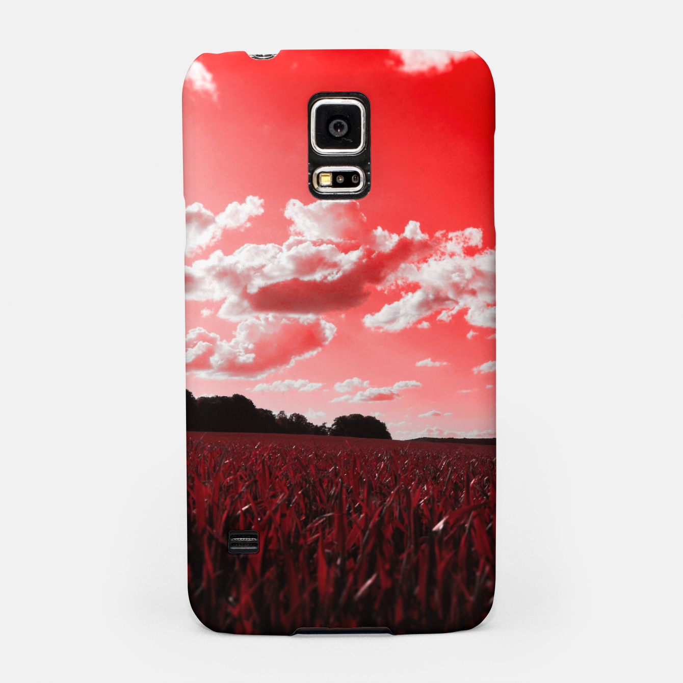 Image of meadow and clouds dr Samsung Case - Live Heroes