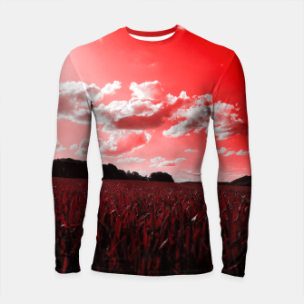 Thumbnail image of meadow and clouds dr Longsleeve rashguard , Live Heroes