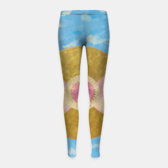 Imagen en miniatura de People on the way Girl's leggings, Live Heroes