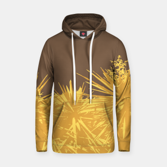 Thumbnail image of Mustard yucca leaves on toffee background  Hoodie, Live Heroes
