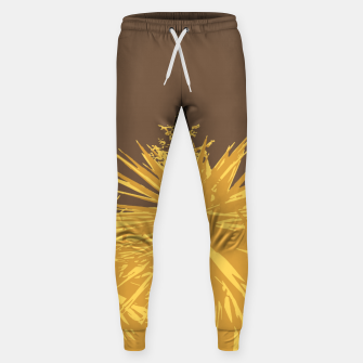 Miniature de image de Mustard yucca leaves on toffee background  Sweatpants, Live Heroes