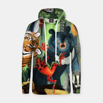 Thumbnail image of Ussuriland Sudadera con capucha, Live Heroes