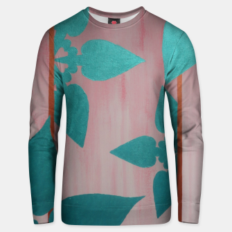 Thumbnail image of flowers Unisex sweater, Live Heroes