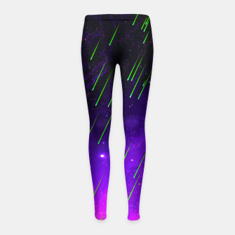 Thumbnail image of ACID P Girl's leggings, Live Heroes
